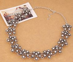 Imitation jewellery necklace for wedding and party wear.Stunning design and attractive look statement necklace at affordable price.