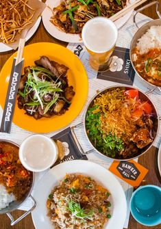 A food and beer hall, located in Windsor. Drawing inspiration from the vibrant hawker centres of Singapore & Malaysia. Banquet, A Food, Menu, Lunch, Dinner, Ethnic Recipes, Melbourne, Places, Menu Board Design