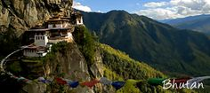 Bhutan, an expensive holiday destination offers a variety of experiences - First off there is the amazing mountainous landscape, where snowcapped peaks rise out of primeval forests in every shade of green