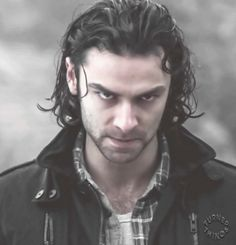 your daily Aidan Turner face … I've been in a Mitchell-y mood lately