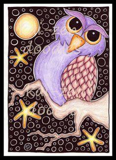Kai-Zen Doodles: My 8th Tangle Pattern: KAKTI & a New Couple of Collages