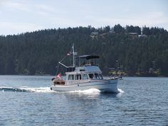 Cruising the Gulf Islands on our Grand Banks 32, DreamTime.