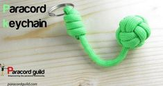 How to tie a cool paracord keychain from Paracord Guild.