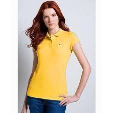 Resultado de imagen para camisetas cuello polo de mujer
