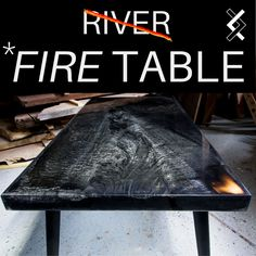 Diy Resin Table, Epoxy Table Top, Epoxy Wood Table, Diy Table Top, Solid Wood Table, Coffee Table Size, Black Coffee Tables, Modern Coffee Tables, Woodworking With Resin