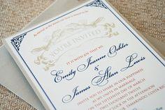 Sneaker and stiletto monogram wedding invitation pocket card vintage lobster wedding invitation design fee by beyonddesign 3000 stopboris Gallery