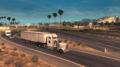 Have you ever play American Truck Simulator ? It loo simulation game in which buddies will play as a truck driver whose job is to deliver cargo to the