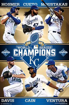 4ad78ca4 14 Best Kansas City Royals 2015 World Series Champs Posters, Prints ...