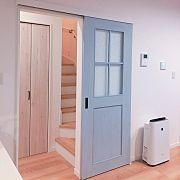 Lounge,リクシル ファミリーラインパレットに関連する他の写真 House 2, My Room, Tall Cabinet Storage, Stairs, Doors, Living Room, Antiques, Interior, Kitchen