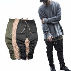Zipper Hip Hop Jogger