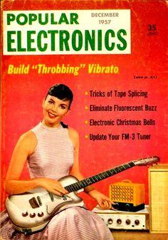 "Build ""Throbbing"" Vibrato - Popular Electronics, Dec. 1957"