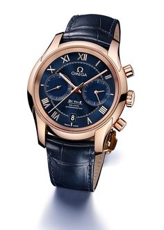 www.watchtime.com | watch to watch  | Omega DeVille Chronograph Co Axial Calibre 9301 | Omega DeVille Chrono front 560