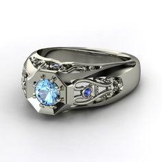 Fancy-schmancy men's ring