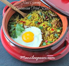 Manila Spoon: Nasi Goreng (Indonesian-style Fried Rice) - so aromatic and flavorful!