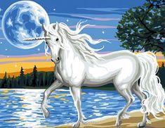 Rafael Angelot canevas la licorne au pays des fées
