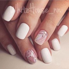Such light, made in pastel hues, nails add your hands necessary fascination of youth. The nails of square shape can