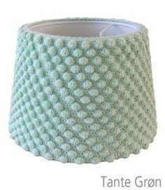 3 Lampe overtræk popcorn, vifte og tweed mønster