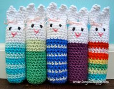 free crochet pattern bunny softie