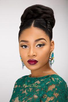 BN Bridal Beauty: International Bridal Hair Specialist, Dionne Smith presents Elegant Evening Bridal Hair Inspiration with a Twist!