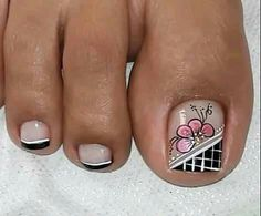 Pedicure Nail Art, Toe Nail Art, Purple And Pink Nails, Toenails, Nail Designs, Tattoos, Makeup, Nail Art, Pretty Nails