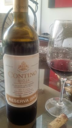 """Contino Reserva 2009. A """"modern classic"""" Rioja which rarely disappoints. A sure bet."""