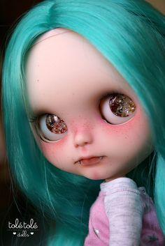 TBL Custom Blythe - Vampire | Flickr - Photo Sharing!