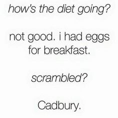 How many of you raided the Easter basket for breakfast today? #LOL #thestruggle #icant