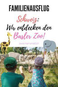 Wir machen mit dem Zug einen Familien-Ausflug in den Basler Zoo, den schönsten Zoo der Schweiz! #zoo #schweiz #familienausflug #ausflugstipp #ferienprogramm #kinder #zugfahren #zoobasel #basel Basel, Vintage Travel Posters, Holiday Program, European Travel, Holiday Travel