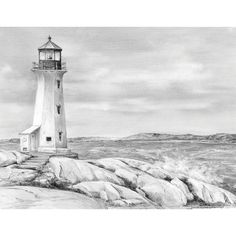 Royal Brush Sketching Made Easy Kit 9inX12inLighthouse Point