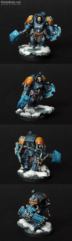 Space Wolf Lord Arjac Rockfist