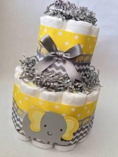 Resultado de imagen para elephant baby shower grey yellow decorations