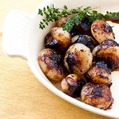 Roasted Balsamic Onions Recipe « Go Bold with Butter