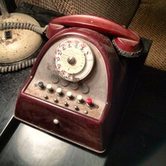 Old french phone