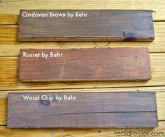 Behr Wood Stains