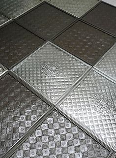 Mexican Tin - punctured & hammered tiles