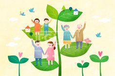 PAI125, 프리진, 일러스트, 가정의달, 에프지아이, 사람, 캐릭터, 가정, 가족, 패밀리, 행복, 사랑, 생활, 라이프, 5월, 남자…