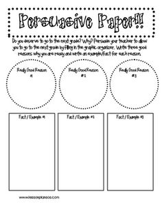 501 best persuasive writing images on pinterest opinion writing persuasive paper do your students deserve to go to the next grade have them convince you students write a persuasive paragraph trying to persuade the spiritdancerdesigns Choice Image