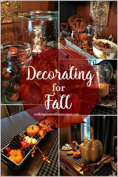 Fall: How to Decorat