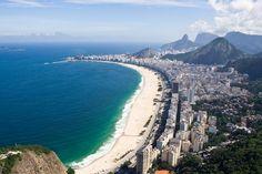 Rio de Janeiro landscape at sunset - 9reasons to visit Rio de Janeiro http://cristinaraducu.com/2015/04/14/9-reasons-for-loving-rio/#more-145