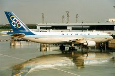 Olympic Airways   Airbus A300-600R   SX-BEL   Bangkok Don …   Flickr Olympic Airlines, Iran Air, Vintage Airline, Jet Plane, Airports, Spacecraft, Athens, Cool Toys, Airplanes