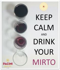 What else? :-) #liquoripacini #keepcalm #drinkmirto #bevisardobeviresponsabilmente
