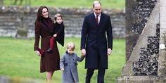 The Royal Babies and Their Christmas Church Outfits Win the Internet Today