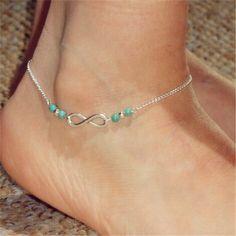 Popular Girls\' Stylish Infinity Friendship Anklet http://www.jewelsin.com/p-popular-girls-stylish-infinity-friendship-anklet-1213