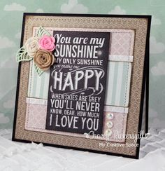 my creative space: DS ~121~ YOU ARE MY SUNSHINE