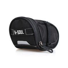 Nylon Bicycle Bag Bike Saddle Bag Seat Pack MTB Cycling Bag Large Space Rear Back Bag Pouch On-Bike Pack