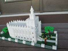 Build In Holy Places.  St. George temple built in Legos.