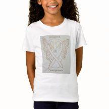 Osteoporosis White Awareness Ribbon Angel Shirt