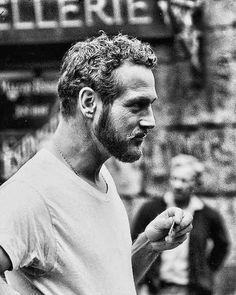 Paul Newman. He looks like one of those Greek God statues. So powerful and beautiful.