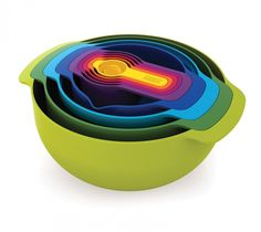 Love this! Not $100 love, but still love :-)  Image Detail for - Joseph Joseph Nest 9 Plus - Measuring Cups, Colanders and Mixing Bowls ...