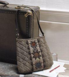 How to make tutorial 3 star tote shoulder Bag Handbag  purse women sewing quliting quilt patchwork applique pdf pattern patterns ebook. $5.00, via Etsy.